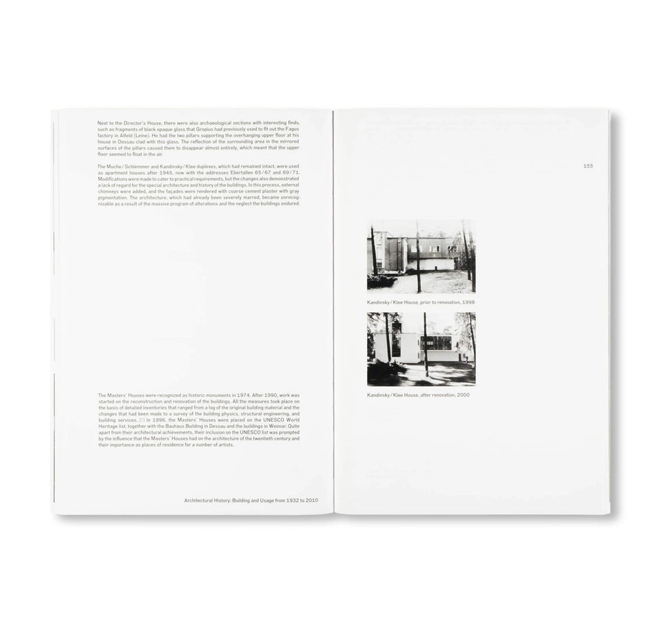 Edition Bauhaus 46: THE NEW MASTERS' HOUSES IN DESSAU