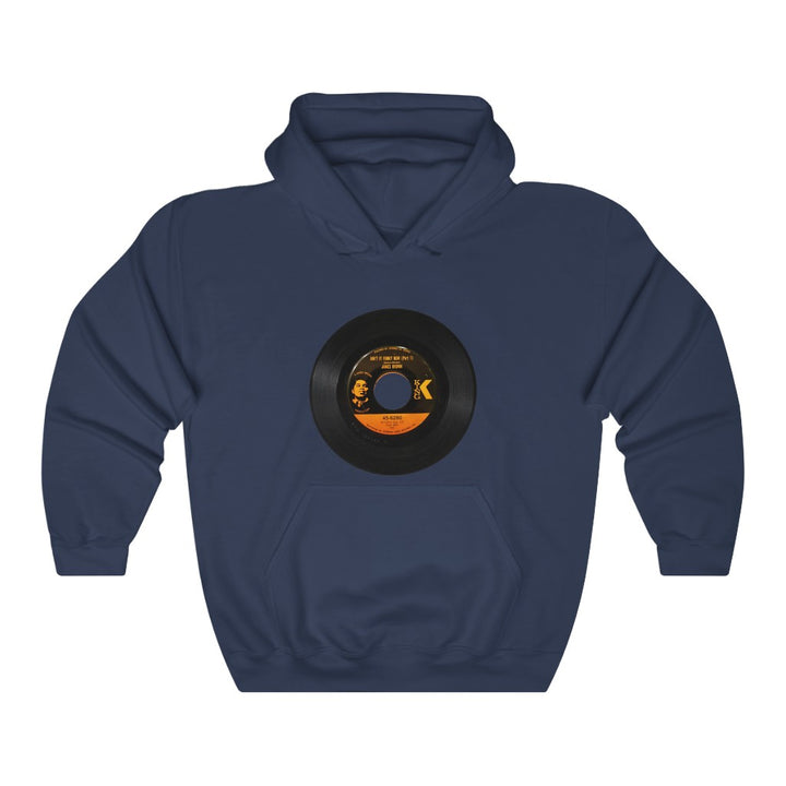 James Brown 45 RPM King Record Label Unisex Hoodie