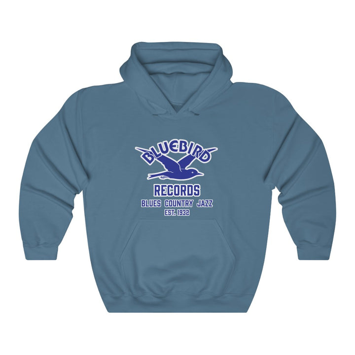Bluebird Records Vintage Record Label Blues Jazz Country Unisex Hoodie