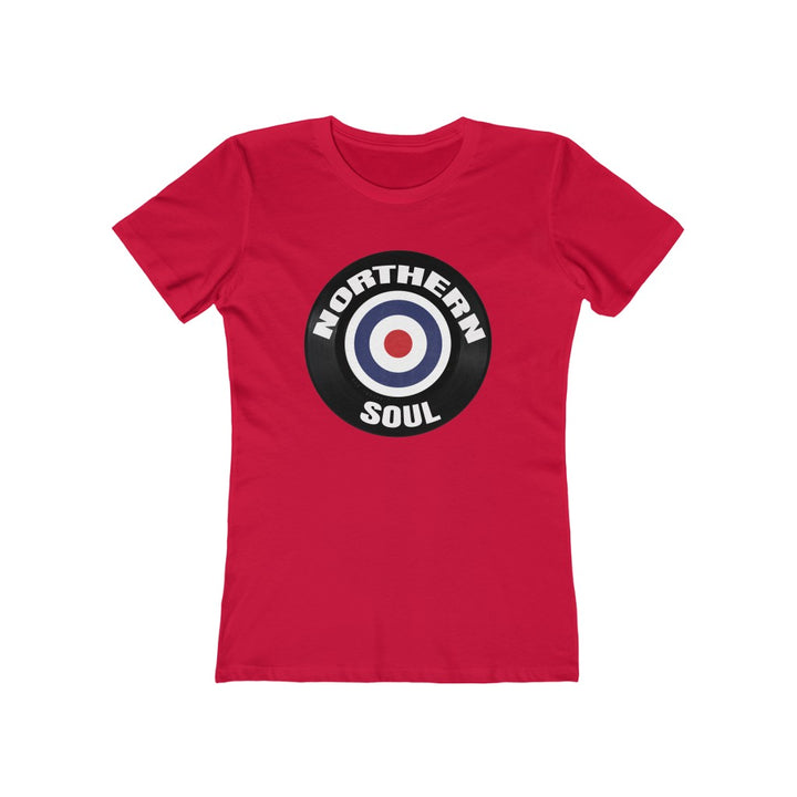 Northern Soul Mod Target Retro Design Women's T Shirt Tee