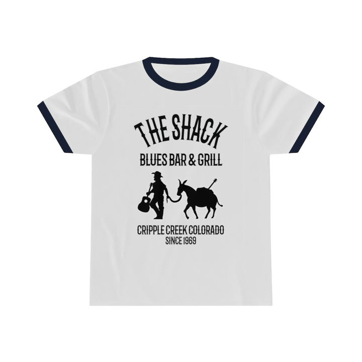 Cripple Creek The Shack Blues Bar & Grill Unisex Ringer T Shirt Tee Inspired by The Band