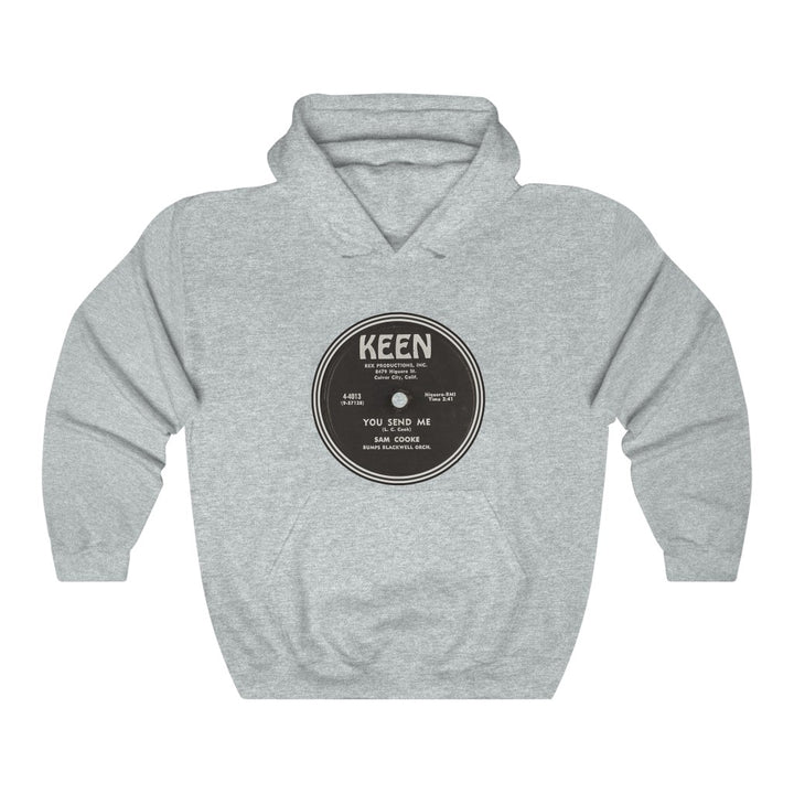 Sam Cooke You Send Me Keen Record Label 78 RPM Soul Vinyl Unisex Hoodie