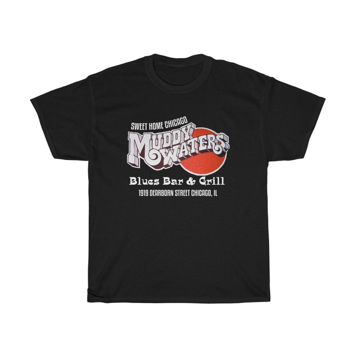 Muddy Waters Blues Bar & Grill Chicago  Men's T Shirt Tee