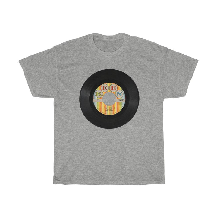 Sam Cooke 45 RPM Keen Record Label Men's Unisex T Shirt Tee