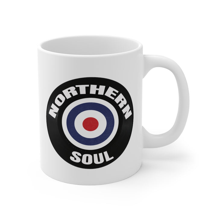 Northern Soul Mod Target 45 RPM Music Coffee Mug 11oz