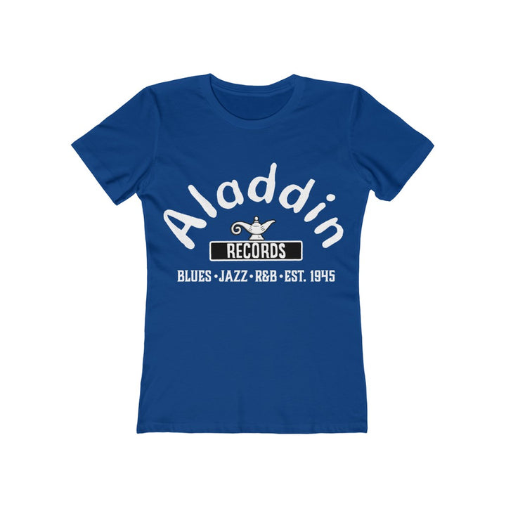 Aladdin Records Blues Jazz R&B Record Label Women's T Shirt Tee