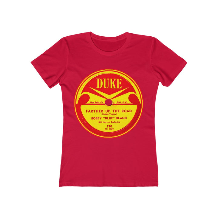 "Bobby ""Blue"" Bland Duke Record Label 78 RPM Blues Women's T Shirt Tee"