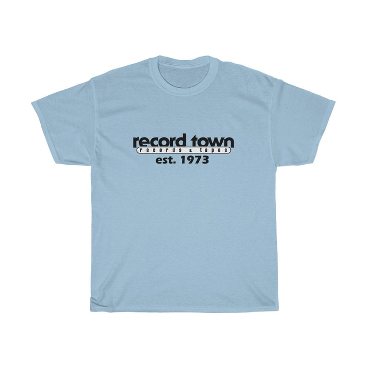 Record Town Record Shop Music Store Men's Unisex T Shirt Tee