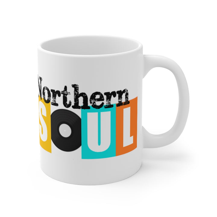 Northern Soul Retro Design Coffee Mug 11oz