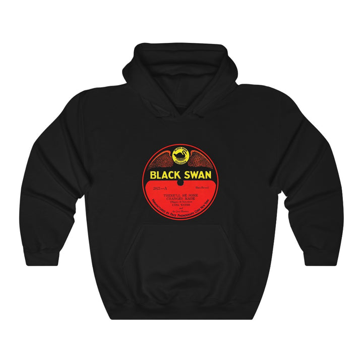 Black Swan Records First Black Owned Record Label 78 RPM Unisex Hoodie