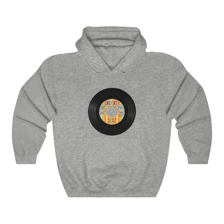 Sam Cooke 45 RPM You Send Me Keen Records Unisex Hoodie