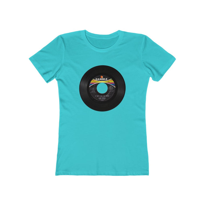 Frank Beverly Northern Soul 45 RPM Label Women's T Shirt Tee