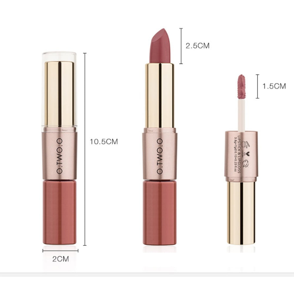 Velvet Matte lipstick & lipgloss-  Waterproof Long Lasting Lip Make Up