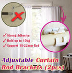 Adjustable Curtain Rod Bracket Holders