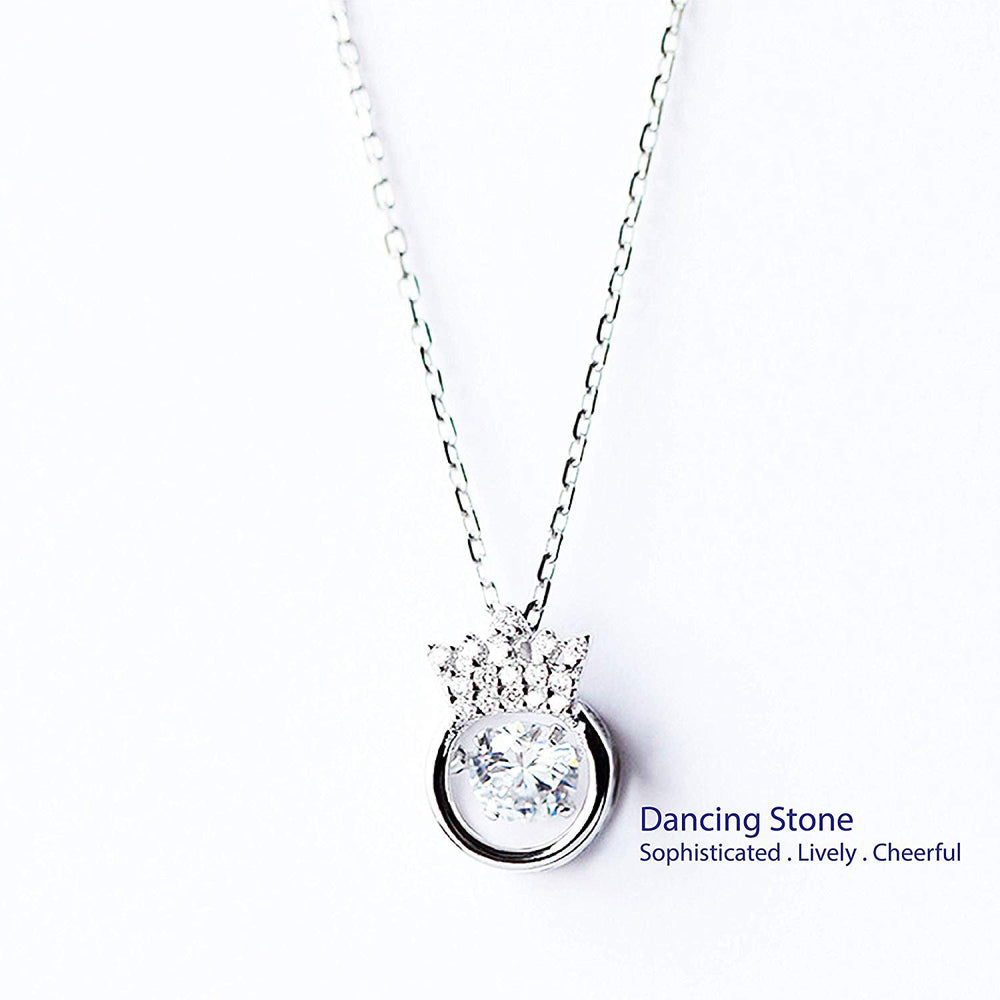 Dancing Crown Necklace