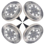 Solar LED Disk Lights
