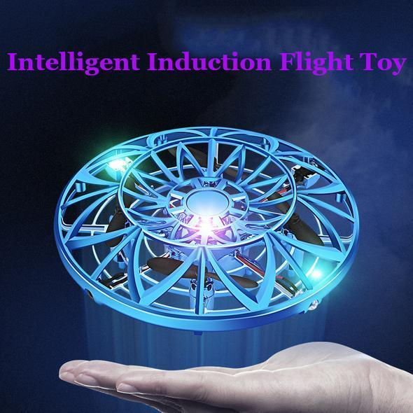 Mini Drone Quad Induction Levitation Hand Operated Helicopter UFO Toys For Kids