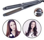 Five-Speed Thermostat Hair Straightener Clip Curved Corn Whisker Fluffy Hair Straightener
