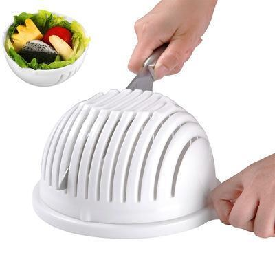 Salad Cutter Bowl | 3-in-1 Kitchen Tool to Cut Slice