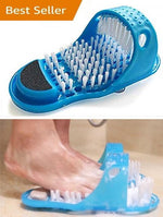 Easy Cleaning Brush Exfoliating Foot Massager Slippers