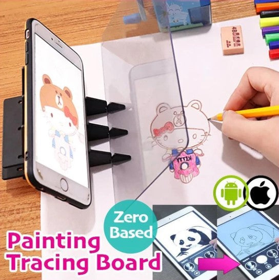Zero-Based Painting Tracing Board
