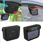 Solar Power Car Window Fan Automatic Cooling Ventilator