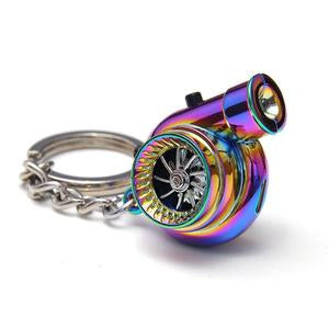 LED turbine light keychain-Car lovers Must have
