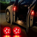 Universal Wireless Car Door LED Warning Light Shinning Blinking Light