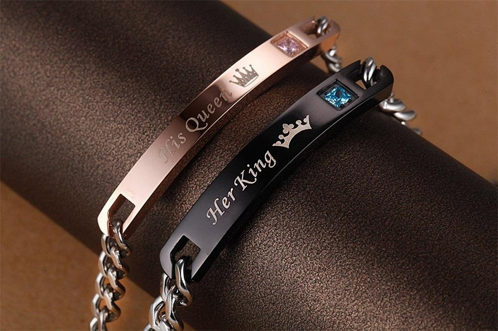 Her King & His Queen Couple Bracelets