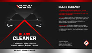 Dirty Cars Wanted Glass Cleaner