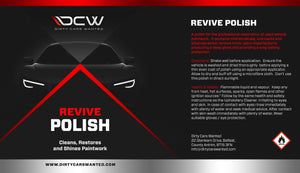 Dirty Cars Wanted Revive Polish