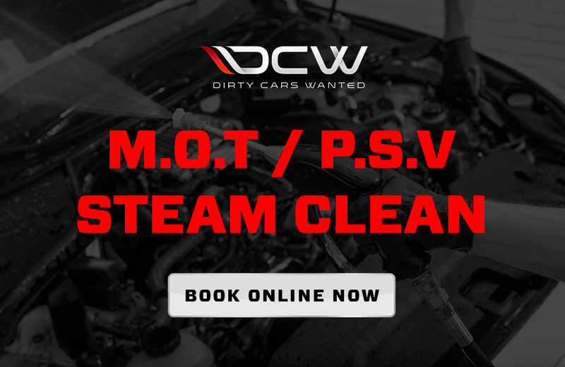 M.O.T / P.S.V STEAM CLEAN