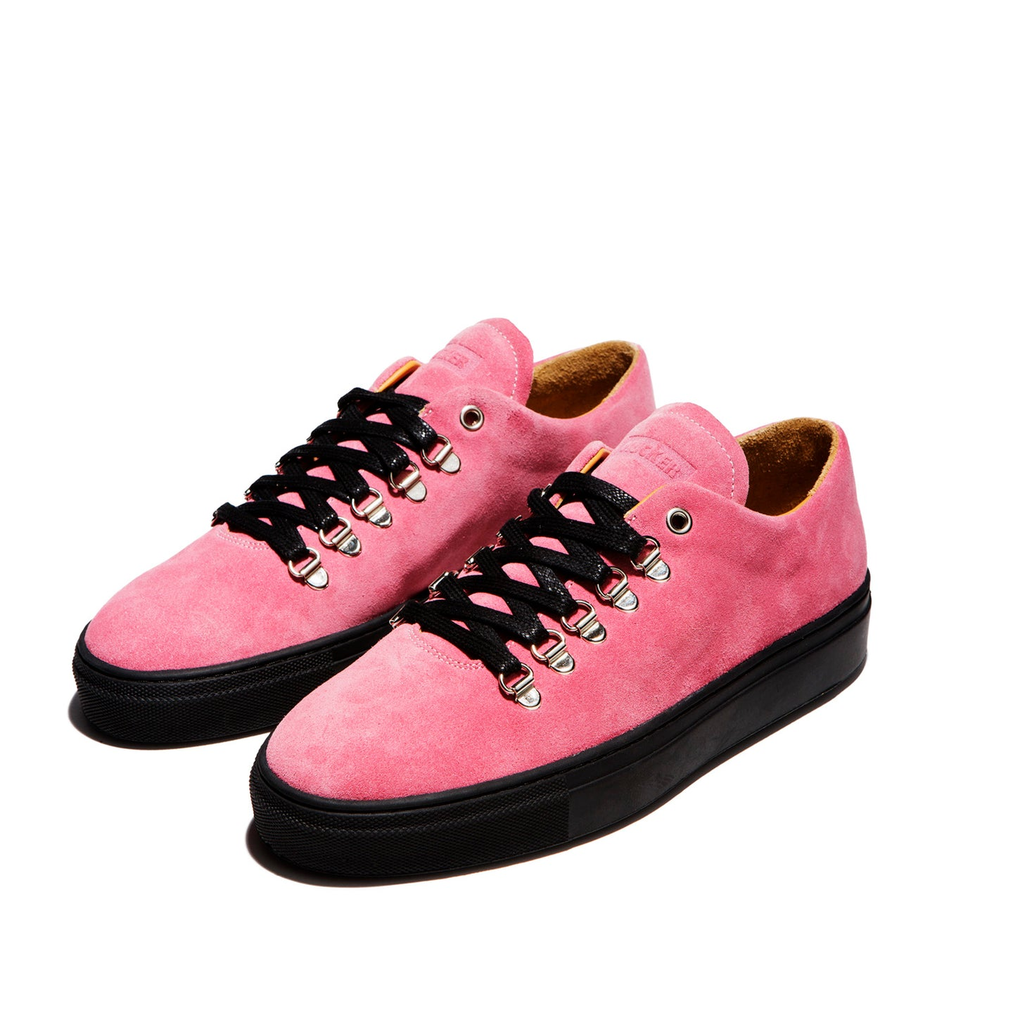 MUCKER RUBBER SOLE ORIGINAL Pink Suede