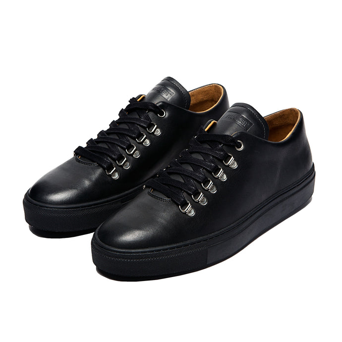 MUCKER RUBBER SOLE ORIGINAL Black Leather