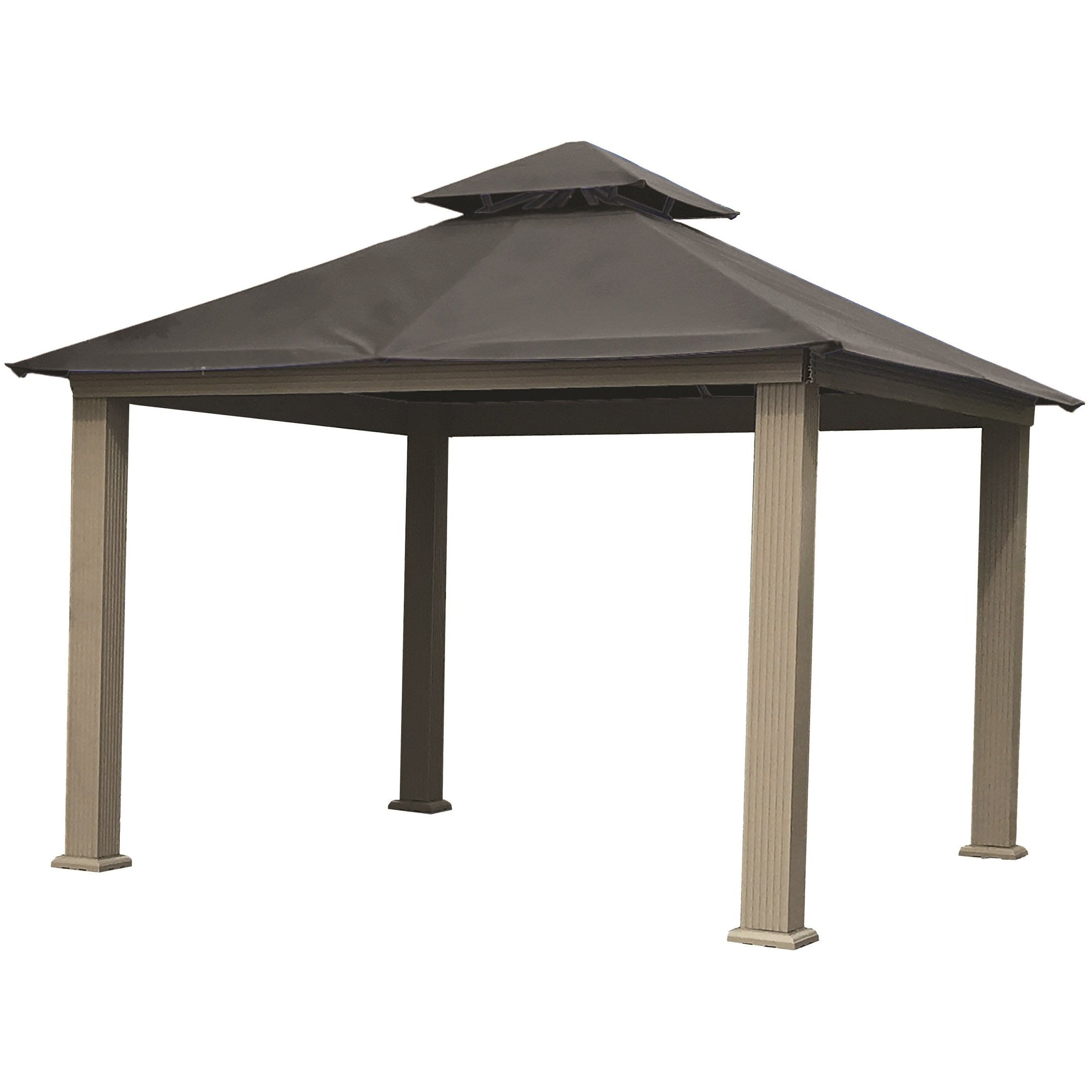 ... Riverstone Industries Acacia 14u0027 x 14u0027 Gazebo with Sundura Canopy ...  sc 1 st  Cozy Shed & Riverstone Industries Acacia 14u0027 x 14u0027 Gazebo with Sundura Canopy ...