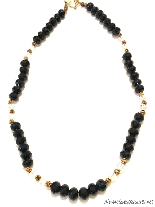 Fall Collection Onyx Necklace