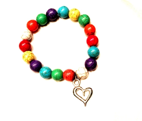 Multi color bracelets