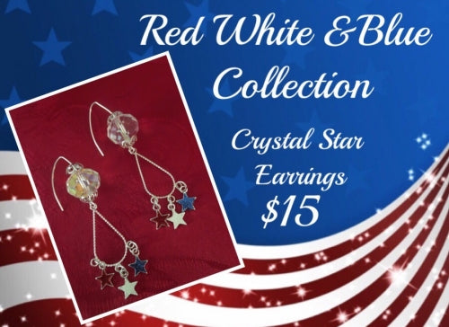 Red, White, & Blue Earring Collection