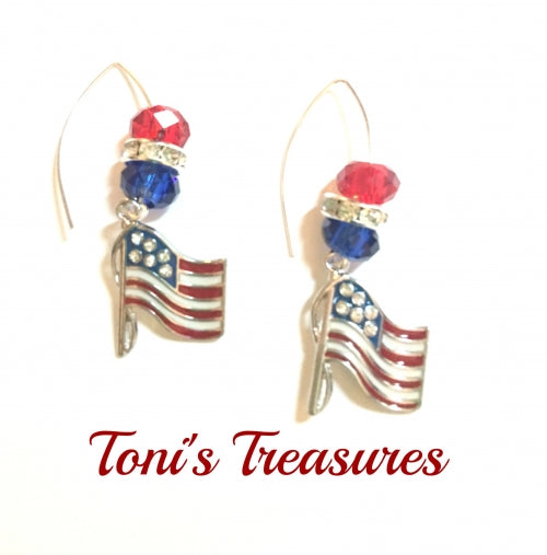 Red White Blue Earring Collection