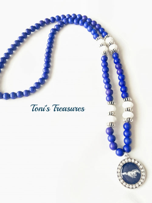 Ridgeview Mustangs Necklace Spirit Jewelry
