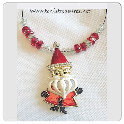 Santa's Coming to Town Necklace