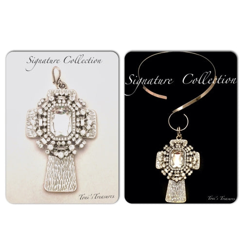 Signature Collection Cross Pendant