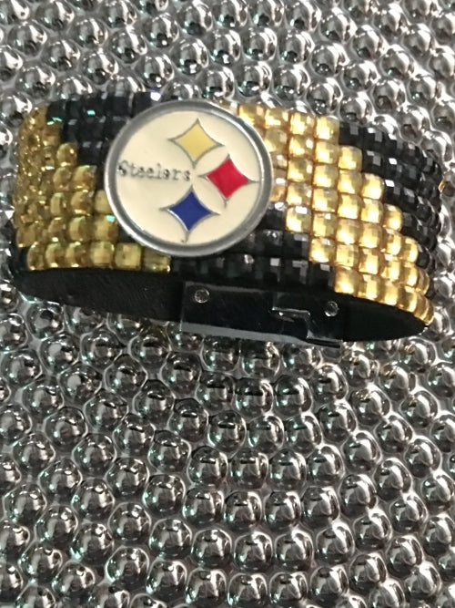 Steelers Glam Bracelet