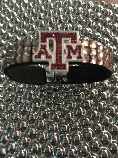 Texas A&M Glam Bracelet