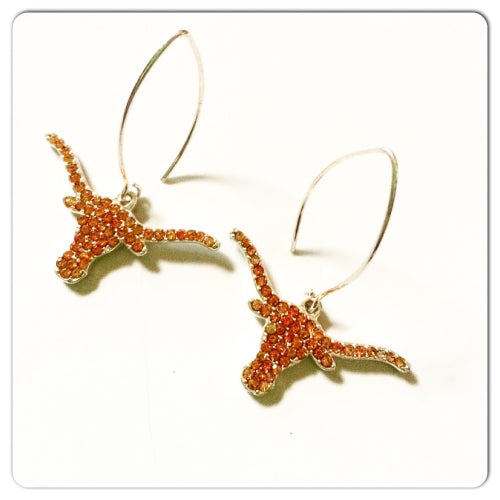 University of Texas Earrings