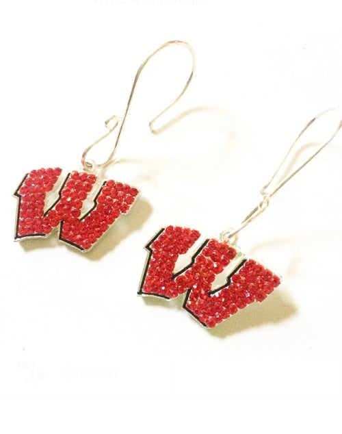Wisconsin Earrings