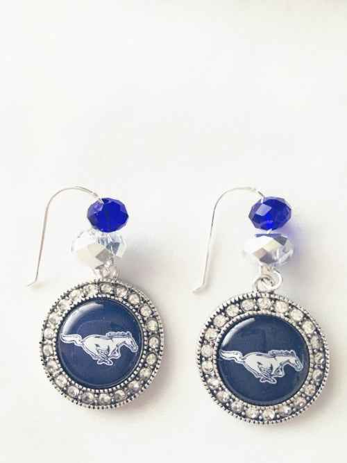 Ridgeview Mustangs Spirit Earrings