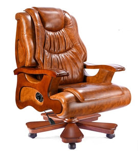 Leather chairs . president chair reclining massage chair lift computer