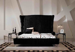 Modern fabric bed / soft bed/double bed king size bedroom furniture