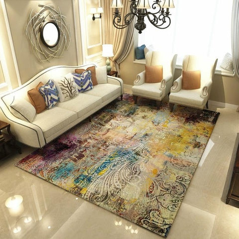 Modern Art Carpets For Living Room Area Rugs